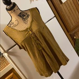 Free People tank top size women's extra large